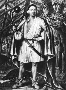 Mohican chief Etow Oh Koam, known as Nocholas (1710)